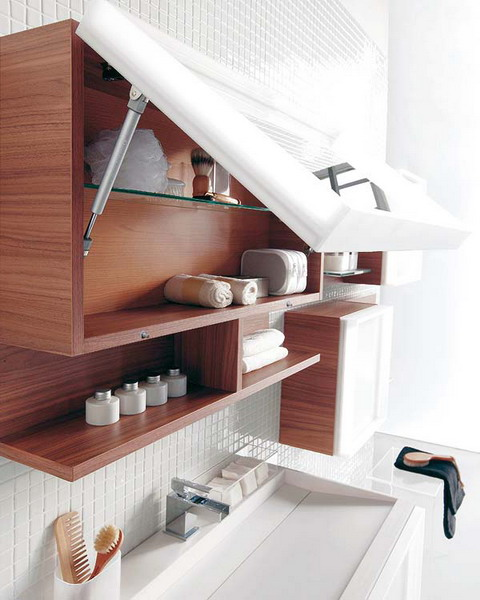 Original Cool Bathroom Storage Ideas  Home Design