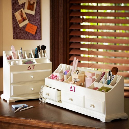 Makeup Storage In Chest Of Drawers