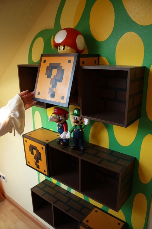 Mario Wall Shelves