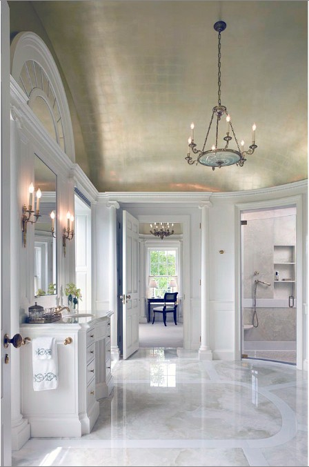 13 Cool Ideas To Make Your Ceilings Metallic And Shiny