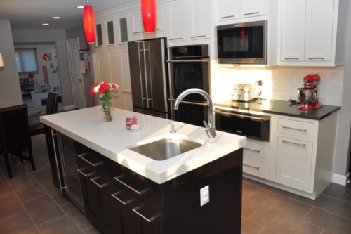 15 Examples Of Mounting Microwave In Upper Cabinets