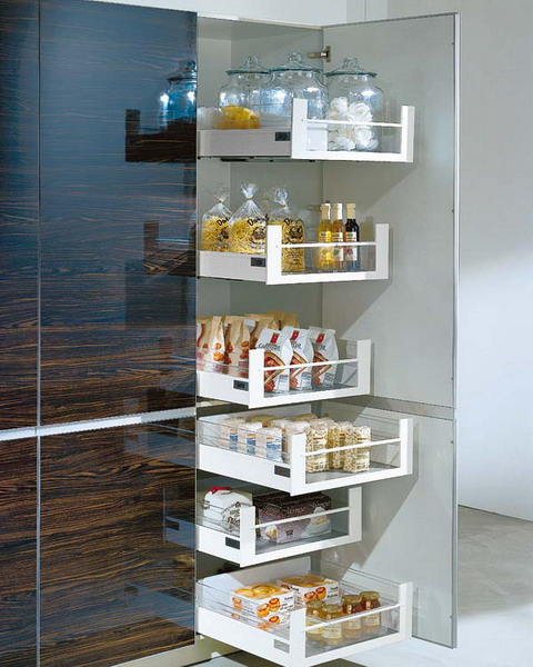 Mini Pull Out Kitchen Pantries