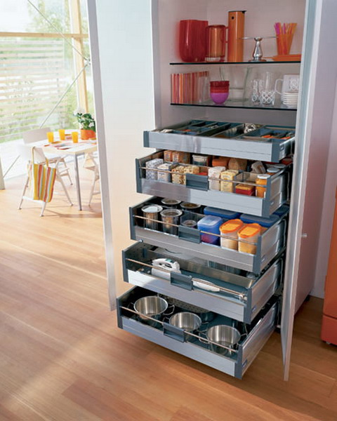 Pull Out Kitchen Drawers And Shelves