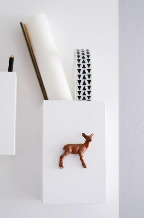 Minimal DIY Wall Organizer For Various Stuff