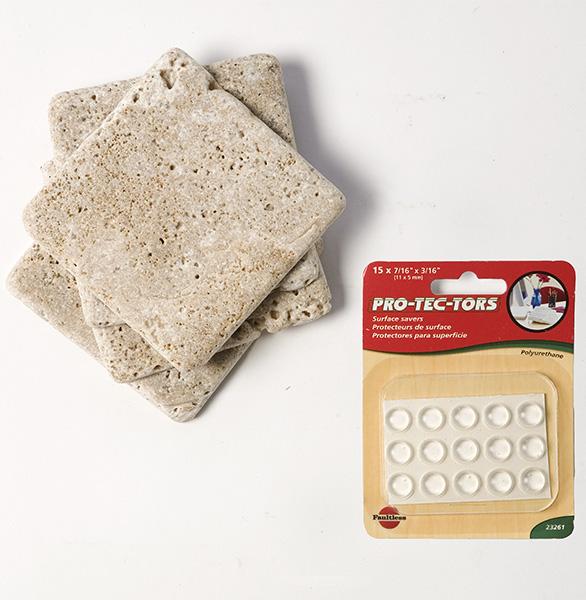 Minimalist Bathroom Tutorial: Picture Of Minimalist Diy Stone Coasters
