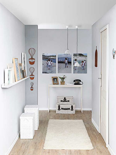 Minimalist yet lovely hallway design inspiration shelterness for Minimalist design inspiration