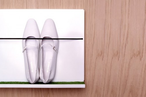 Minimalist Shoe Shelf