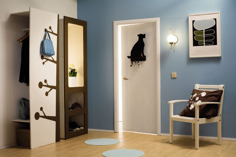 Minimalist Yet Creative Hallway Design Inspiration