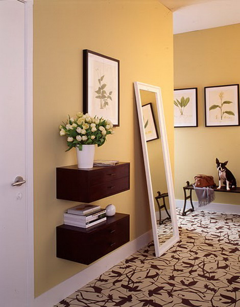 Mirror Ideas In A Hallway
