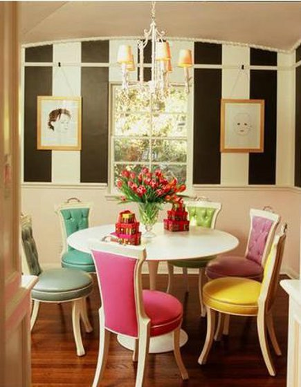 37 ideas to use mixed dining chairs in dining rooms photo 22