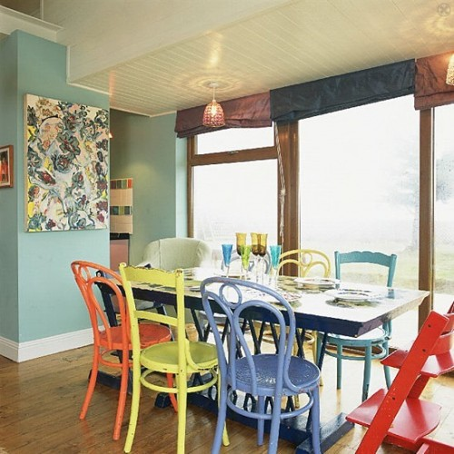 mixed dining room chairs 37 ideas to use mixed dining chairs in dining rooms 4563