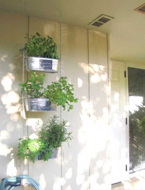 DIY Mobile Hanging Mini-Garden