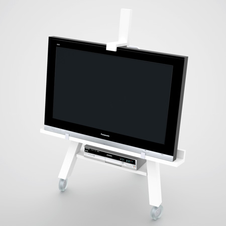Modern Mobile TV Stand