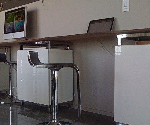 Modern Diy Desk With Rustic Tabletop