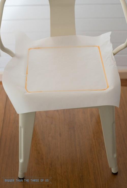 Modern DIY Leather Chair Cushion
