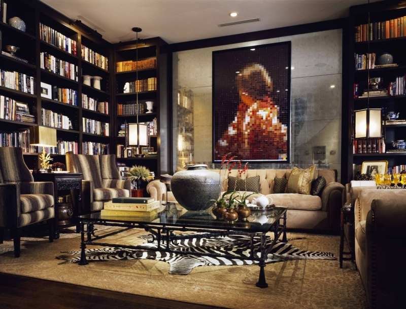 7 Modern Home Library Designs To Inspire | Shelterness
