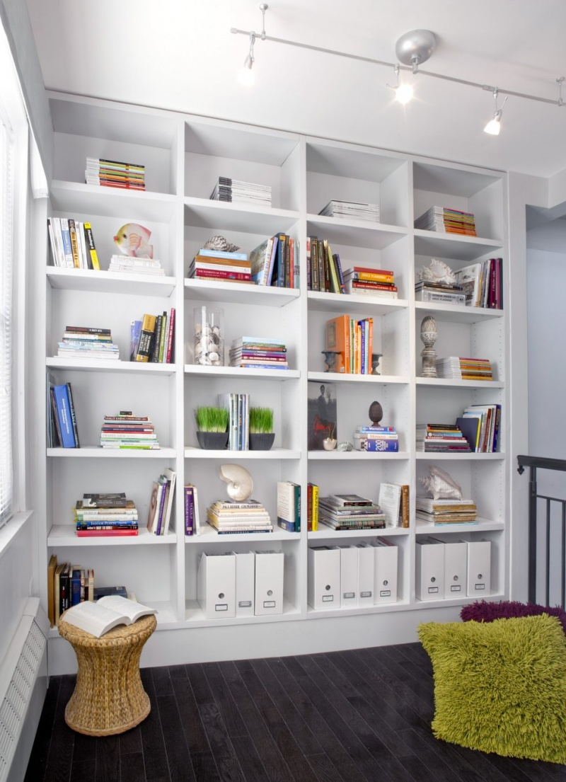 7 modern home library designs to inspire - shelterness