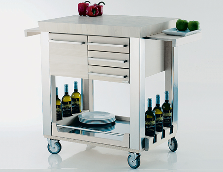 Modern Kitchen Trolleys - Shelterness