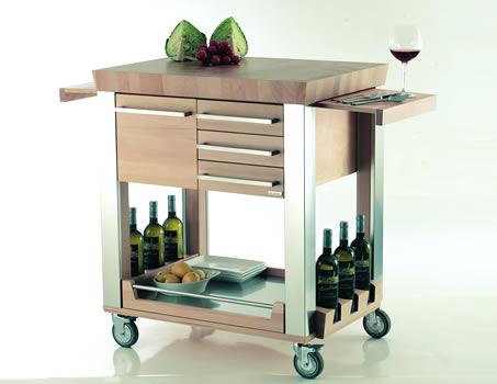 Modern Kitchen Trolleys