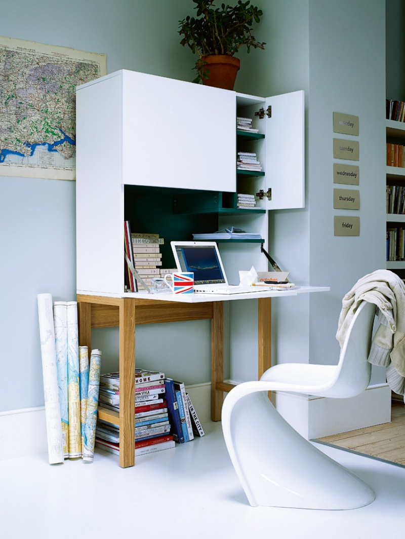 work desk. collect this idea 30 home desks that encourage work