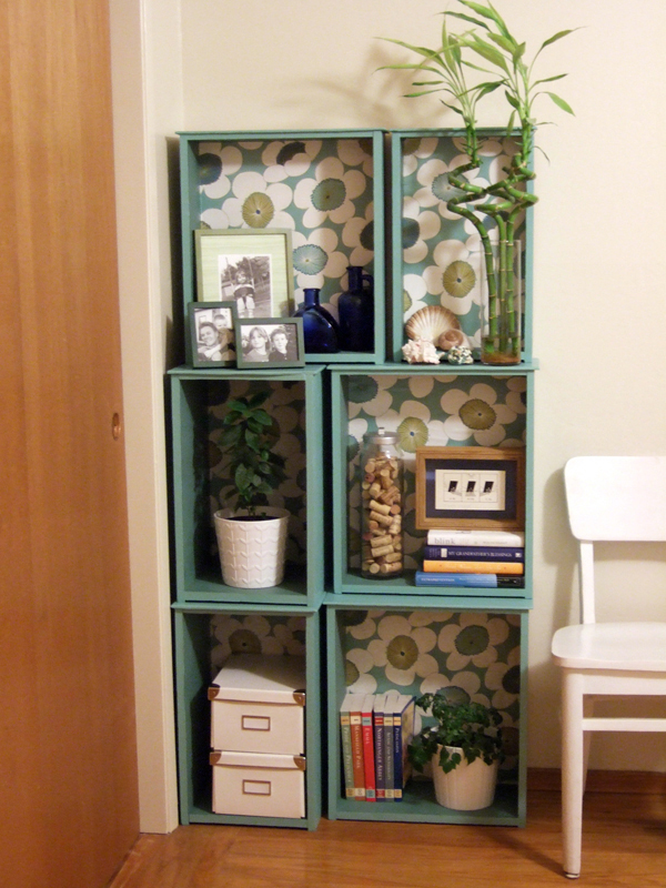 Modular Bookcase After