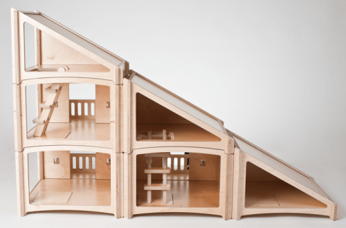 Modular Plywood Dollhouse