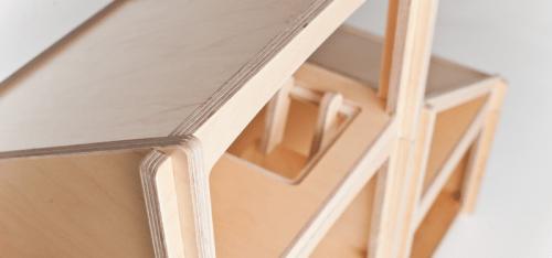 Modular Plywood Dollhouse - Shelterness