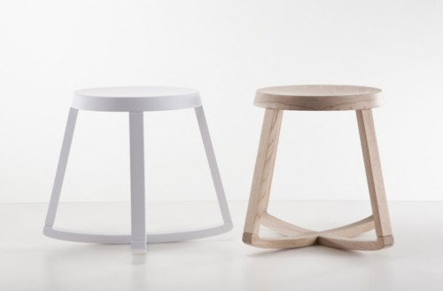 Simple But Functional Rocking Stool