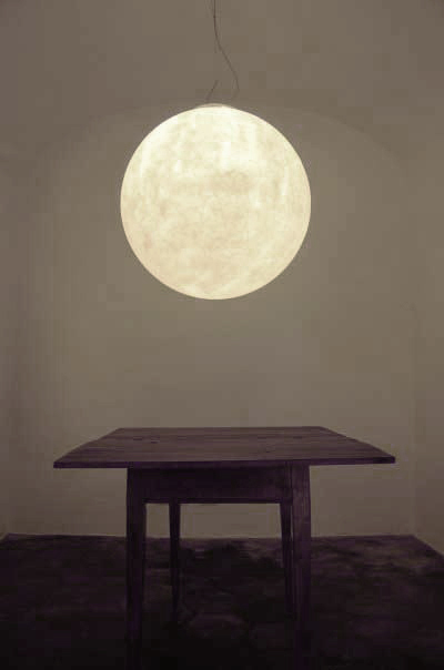 Pendant Lamp That Looks Like Real Moon Shelterness