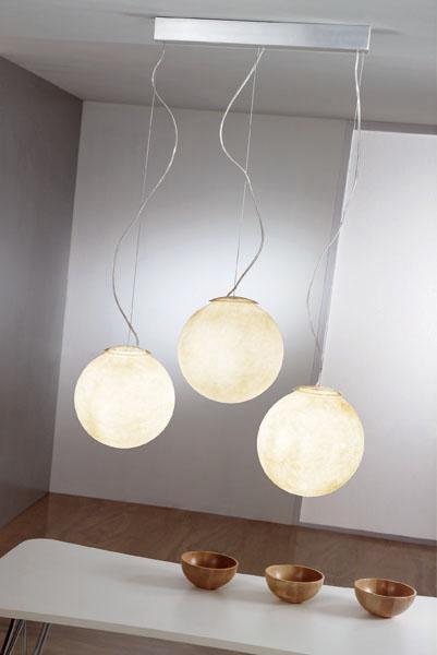 Pendant Lamp That Looks Like Real Moon