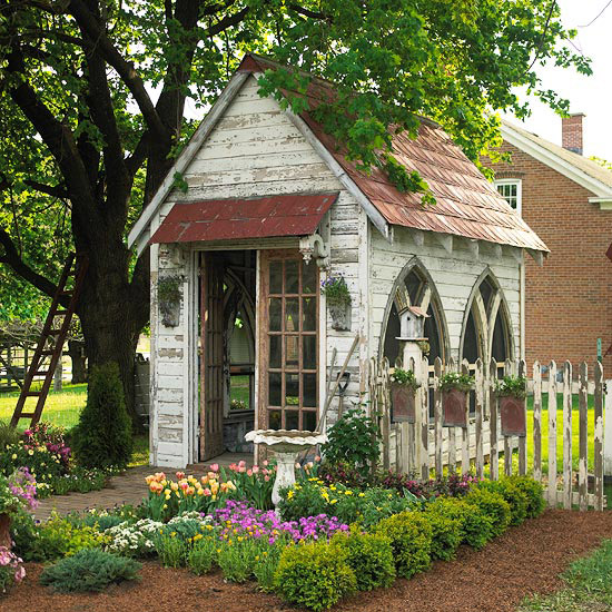 Antique Garden Shed Shelterness