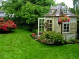 Garden Shed That Looks Like Dollhouse