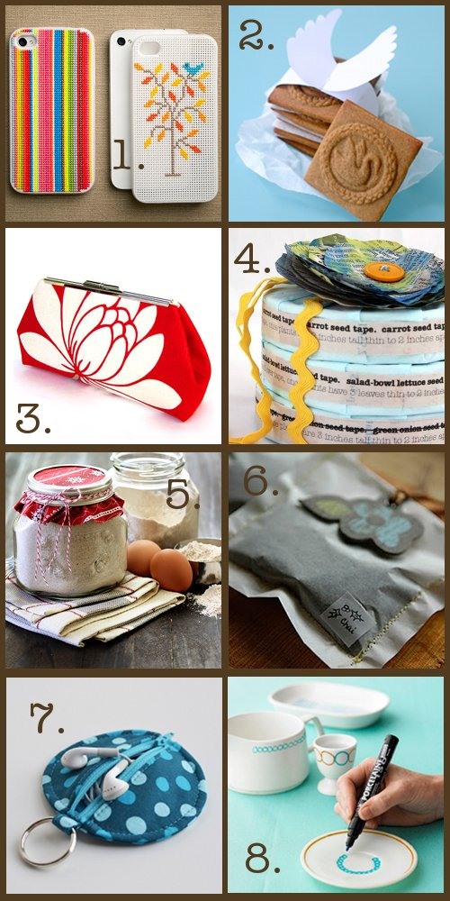 16 DIY Handmade Christmas Gifts and Stocking Stuffer Ideas via