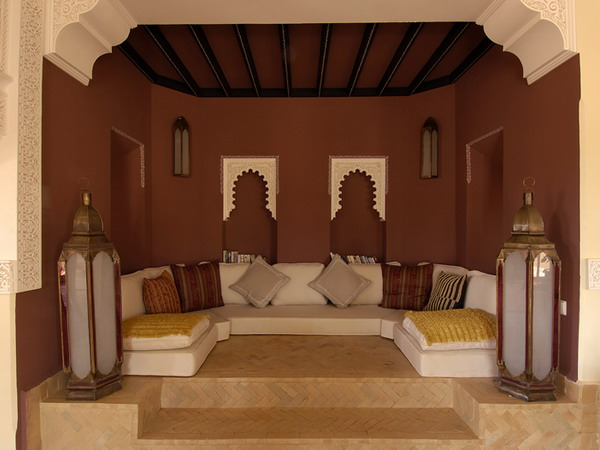 picture of moroccan style living room design ideas. Black Bedroom Furniture Sets. Home Design Ideas