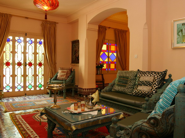 Moroccan Style Living Room Design Ideas