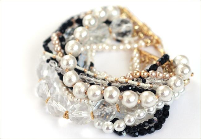 turq beaded bracelet