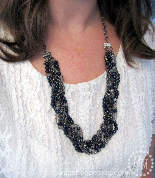 eclectic braided necklace (via thescrapshoppeblog)