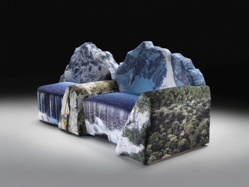 Mountain Inspired Couch