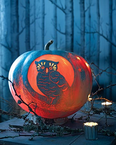 7 Cool Richly Textured Carved Halloween Pumpkins