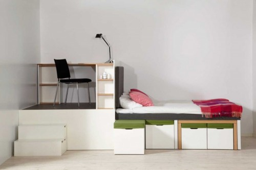 All-In-One Furniture Set For Small Spaces