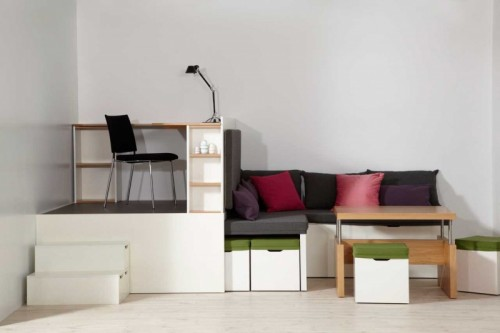 28cf056137a All-In-One Furniture Set For Small Spaces - Shelterness