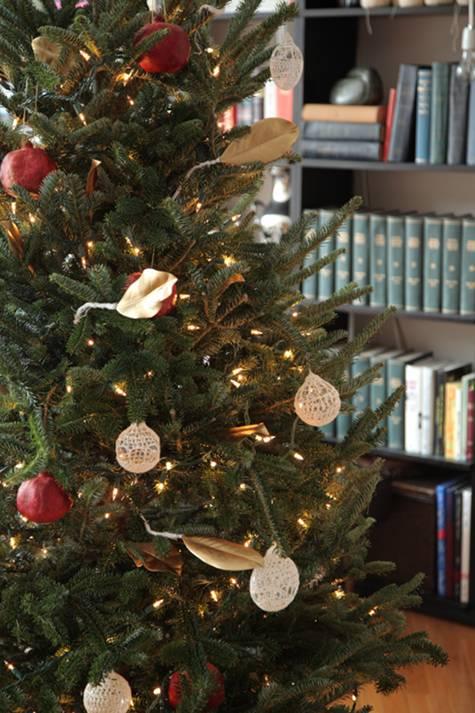 Pomegranate Christmas Ornaments