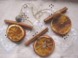 Handmade Citrus and Cinnamon Christmas Ornaments