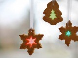 Homemade Stained Glass Cookie Ornaments
