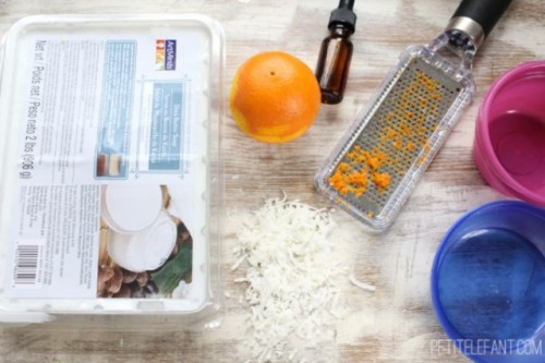 Natural Diy Coconut Citrus Soap