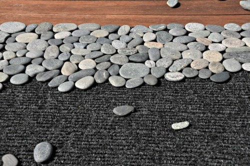 Natural Looking Diy Rock Doormat