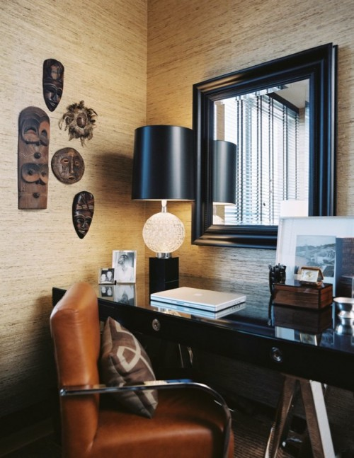 25 examples of using natural wallpapers in interior decorating shelterness - Wall papers for interior decoration ...