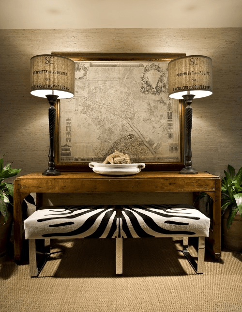 Natural Wallpapers In Interior Decorating