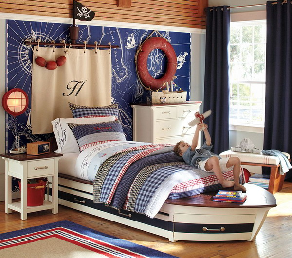5 Navy-Themed Boys Bedrooms To Inspire You