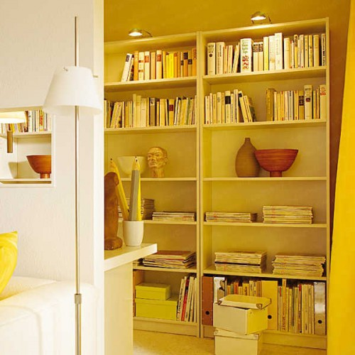 how to hide a home office in a living room shelterness